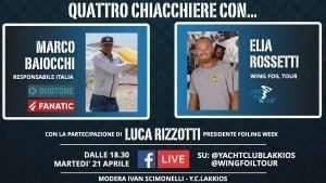 Live Video: QUATTRO CHIACCHIERE CON…Marco Baiocchi, Elia Rossetti & Luca Rizzotti