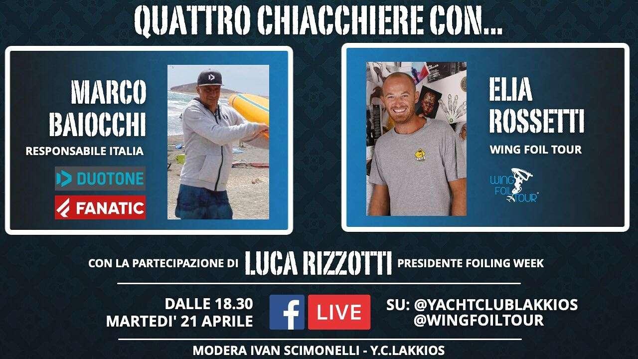 You are currently viewing Live Video: QUATTRO CHIACCHIERE CON…Marco Baiocchi, Elia Rossetti & Luca Rizzotti