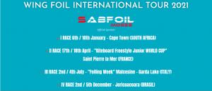 Breaking news: Wing Foil Tour International calendar 2021