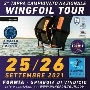 Read more about the article Wing Foil Tour a Formia per il Wind 4 Fun 25/26 Settembre: Cosa fare per partecipare